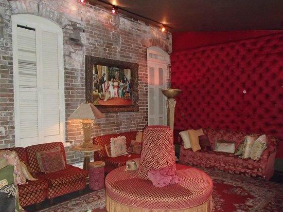 Muriel's Jackson Square : Upstairs sitting room