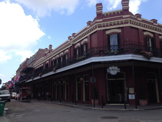 Muriel's Jackson Square : Muriel's in the heart of Jackson Square, great location