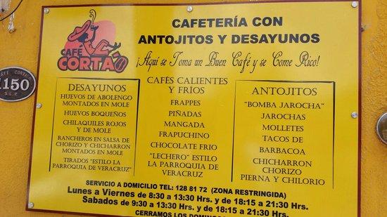 Cafe Cortado San Luis Potosi
