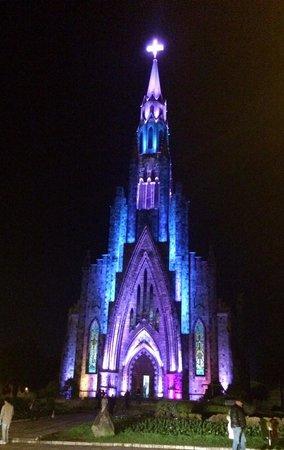 Catedral de Pedra: A noite...