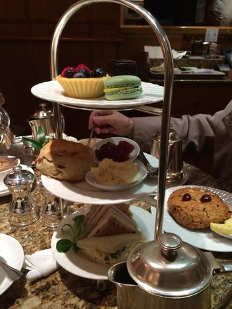 Bettys Cafe Tea Rooms - Harrogate: afternoon tea tray