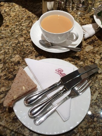Bettys Cafe Tea Rooms - Harrogate: cup of tea