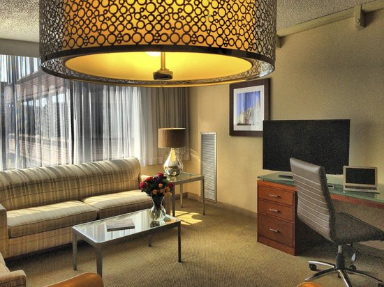 Georgetown Suites: One bedroom suites have separate living area