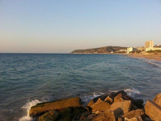 Hotel Solemar: Иксия.Родос.пляж.