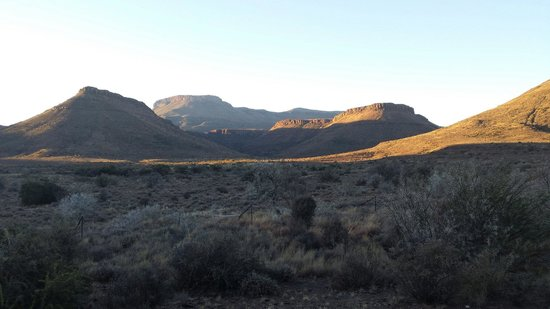 Karoo National Park Unterkunfte: God's amazing hands