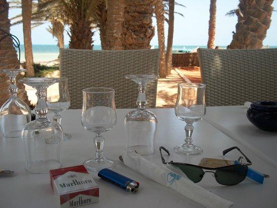 Odyssee Resort & Thalasso : restaurant Poseidon face a la mer. vue superbe
