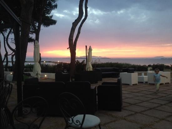 Fior di Sale: sunset