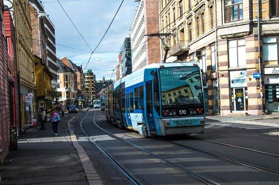 Anker Hotel : Tram 12