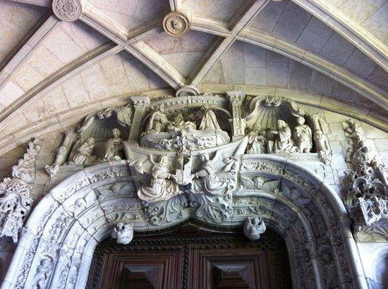 Belem: Entrée de l'eglise du monastère