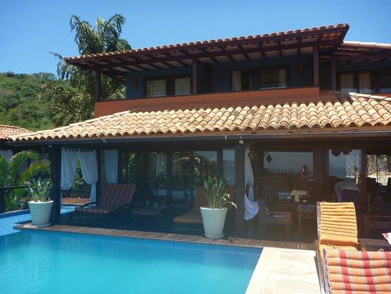 La Pedrera Small Hotel & Spa: Pileta - Comedor