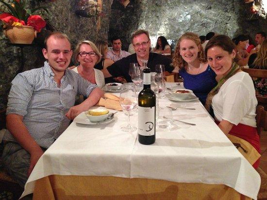 30th Anniversary celebration at Da Vincenzo