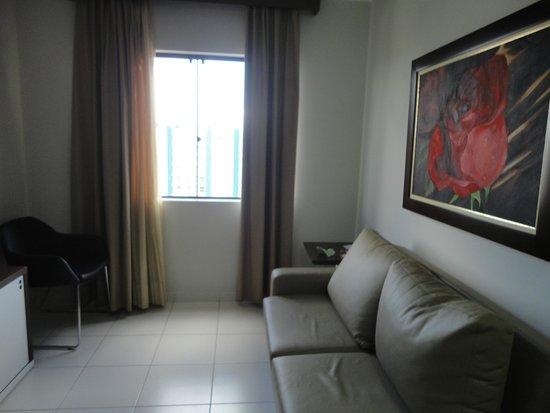 Privé Boulevard Suíte Hotel : sala