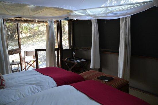 Wilderness Safaris Busanga Bush Camp: the tent