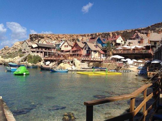 Popeye Village Malta: il villaggio!!!!
