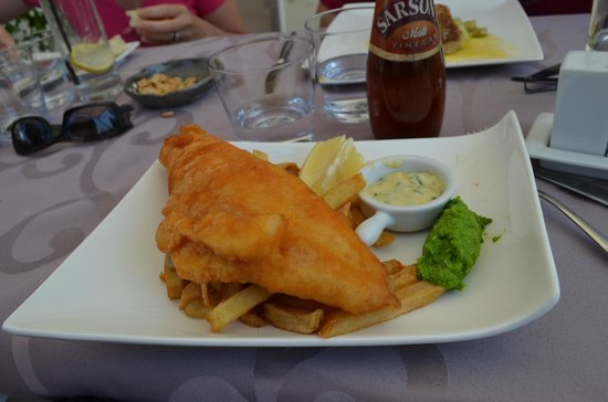 Le Cottage : Fish and chips