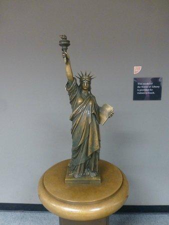 Statue de la liberté : Museo