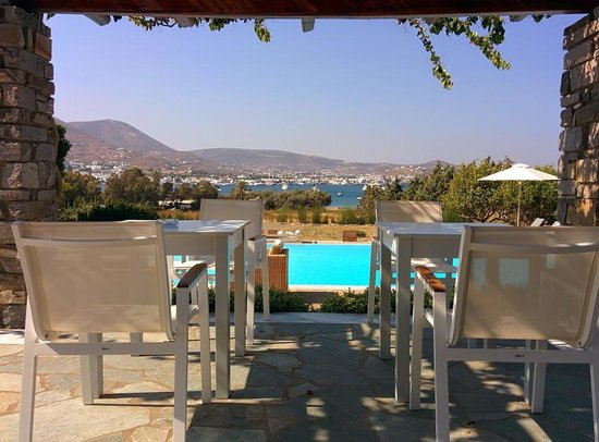 Roses Beach Hotel: Breakfast view