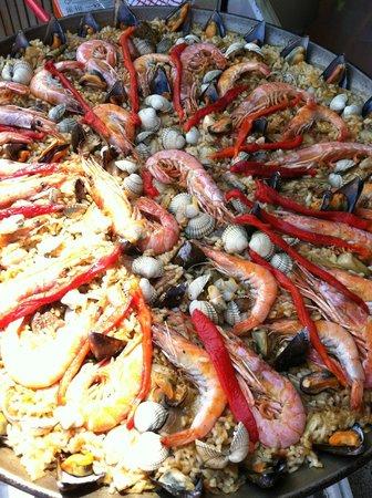 Marta's Private Paella Cooking Classes : The magnificent paella