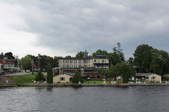 Gananoque - view from the boad