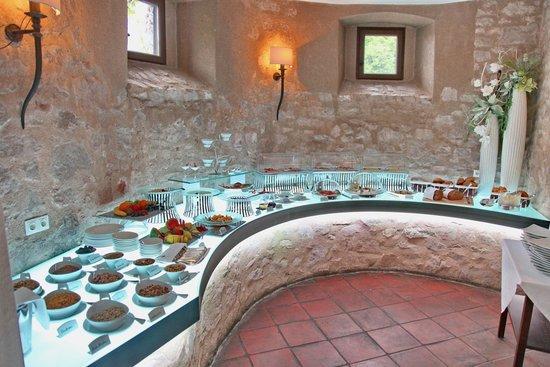 Hotel Burg Wernberg: Frühstücksbuffet
