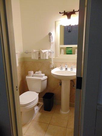 Bright Angel Lodge: toilet and basin
