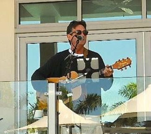 Bridge Tender Inn: One of our great entertainers, GREG ROCHE'!