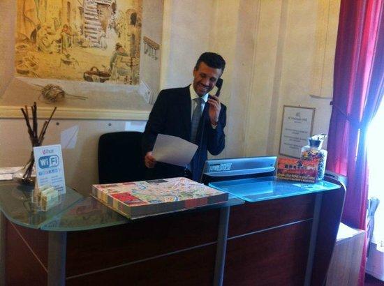 Al Viminale Hill Inn & Hotel : reception