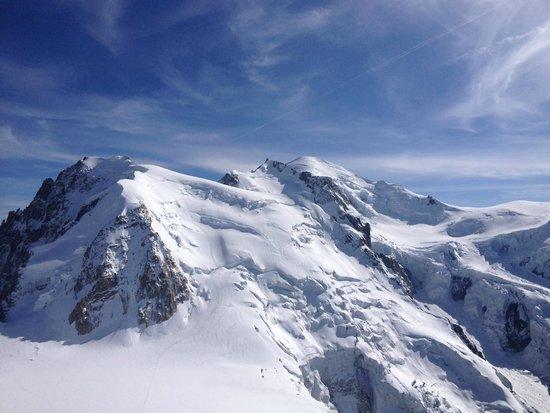 Mont Blanc du Tacul from Aiguille du Midi
