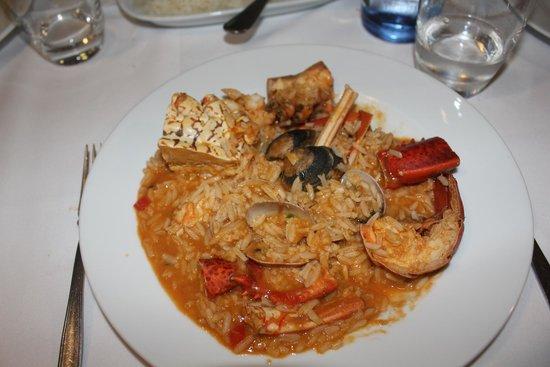 Restaurante Abadia Do Porto: Riz aux fruits de mer