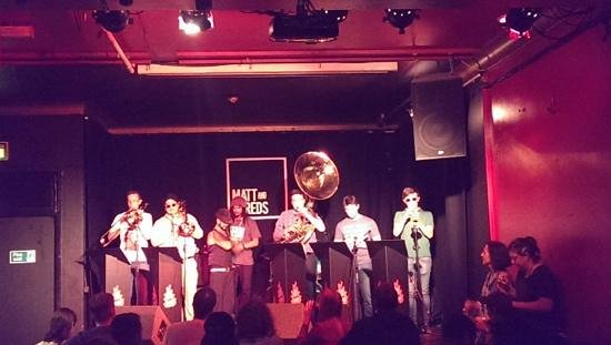 Matt and Phred's Jazz Club: The Hot Botz Brass Band...amazing music and superbly entertaining