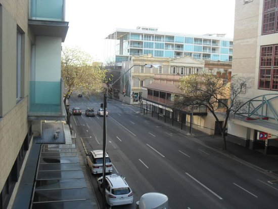 View From Our Room Rundle Mall Is Just Around The Corner