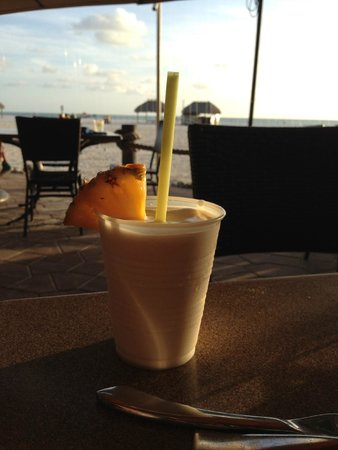 JW Marriott Marco Island: Pina Colada at the restaurant