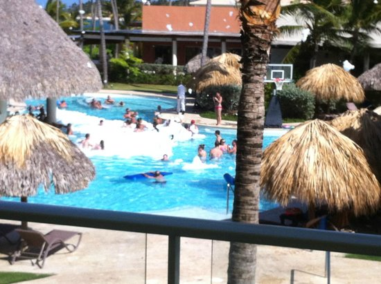 Secrets Royal Beach Punta Cana: Foam Party fun...