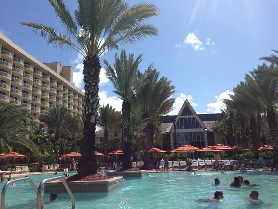 JW Marriott Marco Island: At the adult pool area