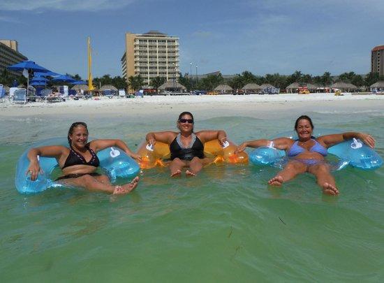 JW Marriott Marco Island Beach Resort: Enjoying our time