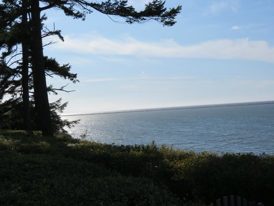 The Dungeness Barn House Bed and Breakfast: View from the bluff