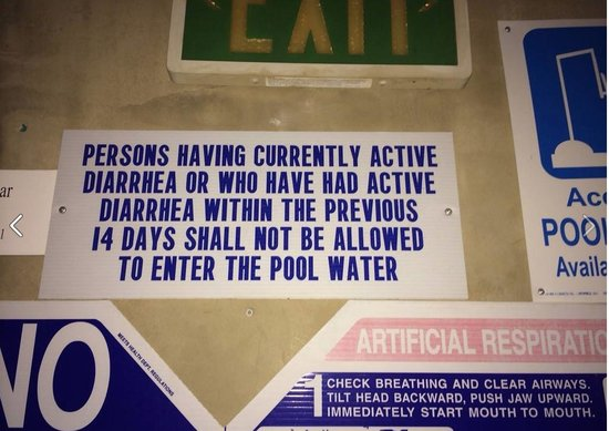 Kimpton Solamar Hotel: Funny signage