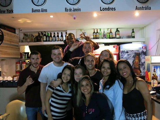 Samba Palace Hostel: The bar area at Samba Palace. Many a great night.