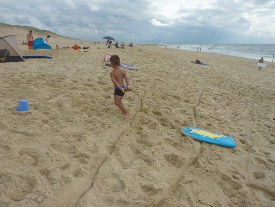 Belambra Clubs - Les Estagnots-Pinède : La plage en face du club