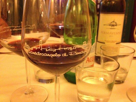 Trattoria del Passatore: vino