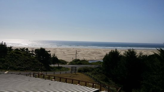 BEST WESTERN Agate Beach Inn : View from our room