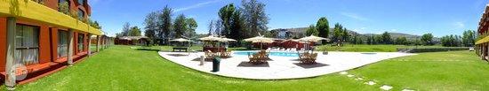 El Lago Estelar Hotel : Panorámica del jardín