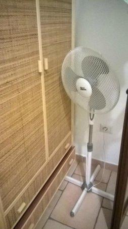 Casa Schmidt : ventilatore in camera