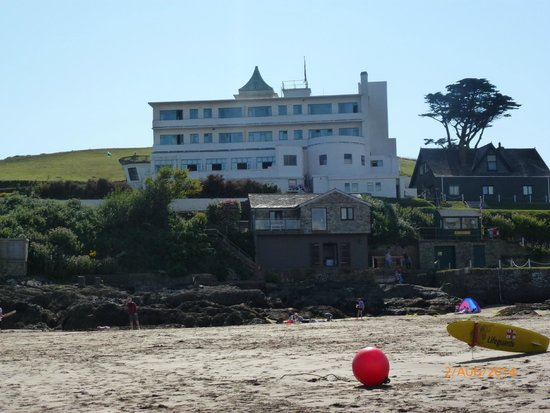 Burgh Island : Frontal view from beach