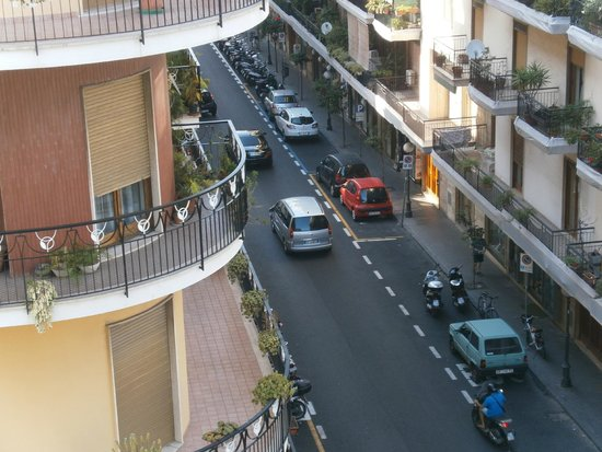 Hotel Tourist : view from the balcony