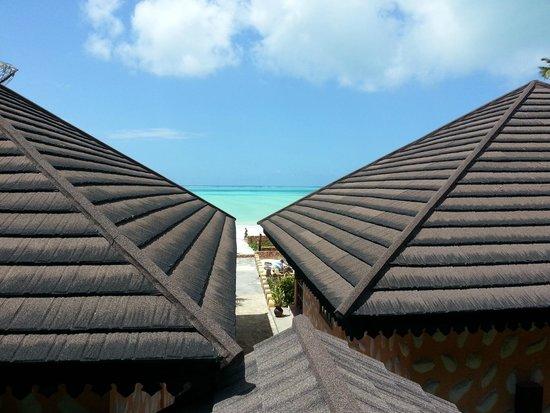 Arabian Nights Hotel: Vista dal ristorante