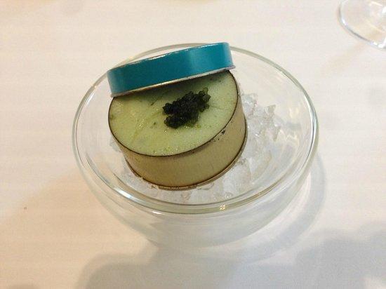 TIAN Experience Taste: cucumber caviar