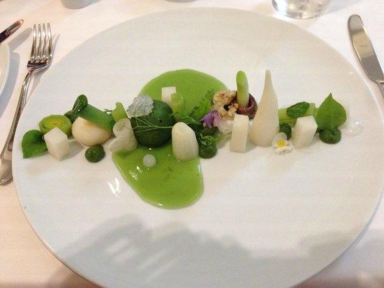 TIAN Experience Taste: mai course veggies