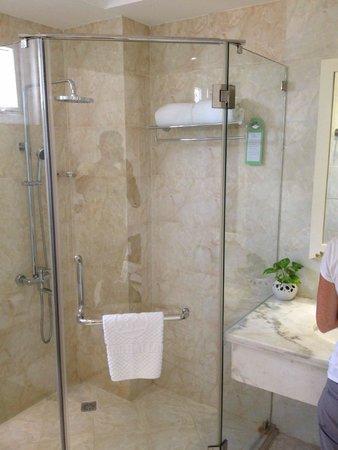Alagon Saigon Hotel & Spa: doccia