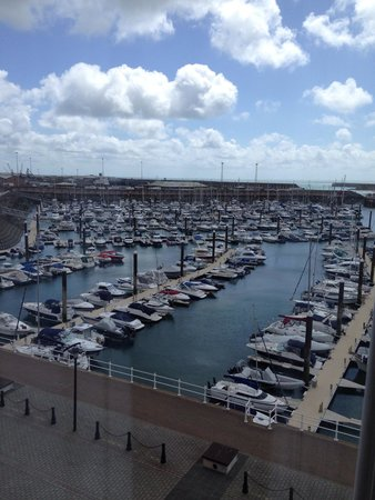 Radisson Blu Waterfront Hotel, Jersey: View 1 from suite